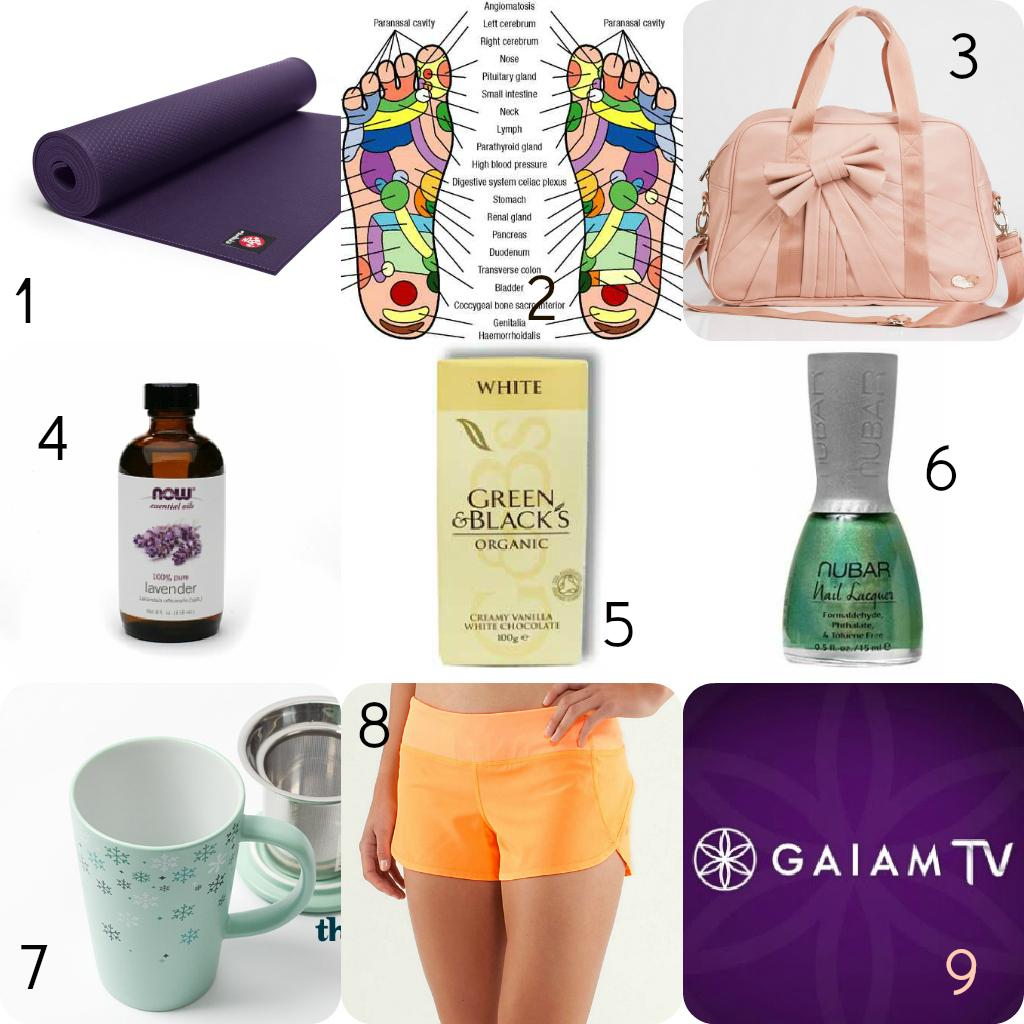 Wellness Holiday Gift Ideas Living Mint Green