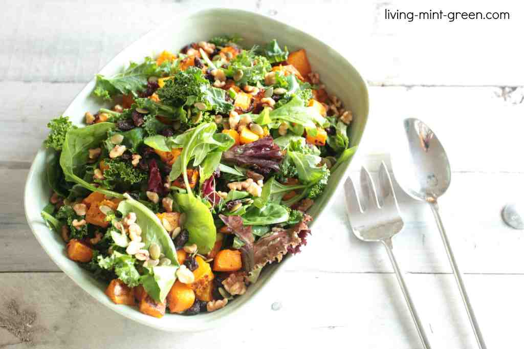 Winter Salad With Honey-Sage Vinaigrette